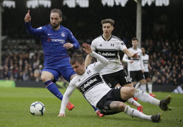 Image result for Fulham vs Chelsea 1-2