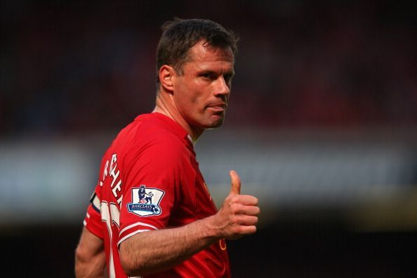 A one-club man, Jamie Carragher never inspired Liverpool to win the Premier League