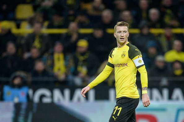 Marco Reus could remove himself from this list if Borussia Dortmund win the Bundesliga this season!