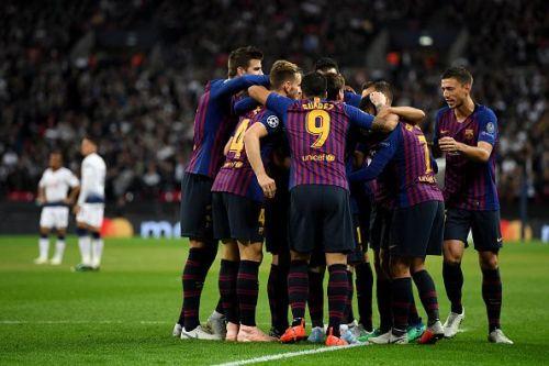 Tottenham Hotspur - FC Barcelona - Group B of the UEFA Champions League