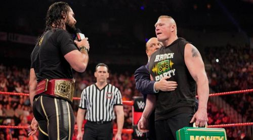 Seth Rollins isn't worried about Brock Lesnar?