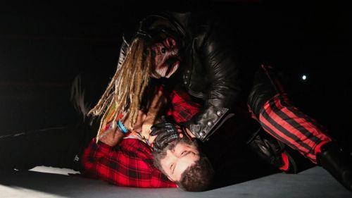 Wyatt used the Mandible Claw on Mick Foley