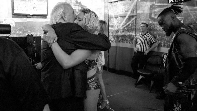 Ric Flair and Charlotte Flair
