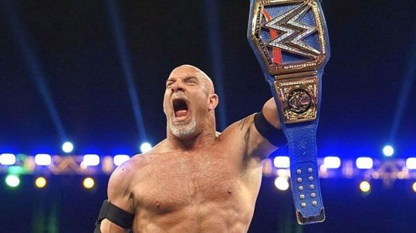 Image result for goldberg universal champion