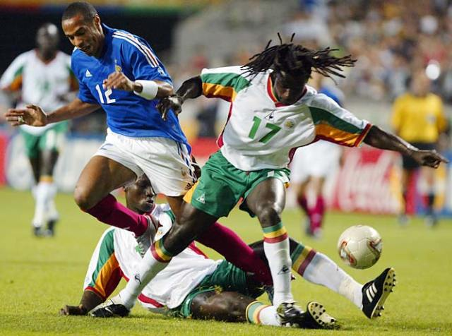 Image result for Senegal in 2002 world cup