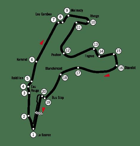 Belgium Grand Prix: Spa-Francorchamps track guide