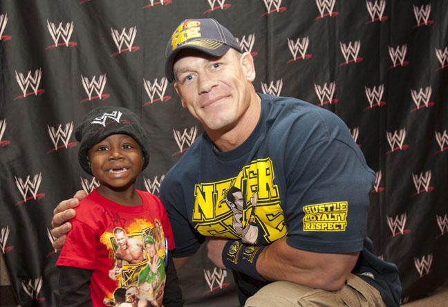 WWE John Cena Always Happy To Meet Charitable People