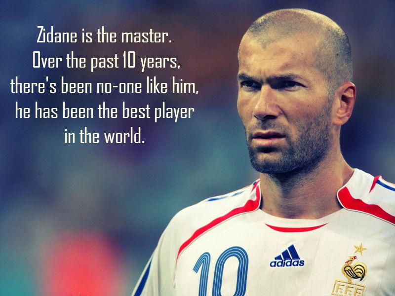 Football Coach Quote Wallpaper 10 Best Quotes On Zinedine Zidane