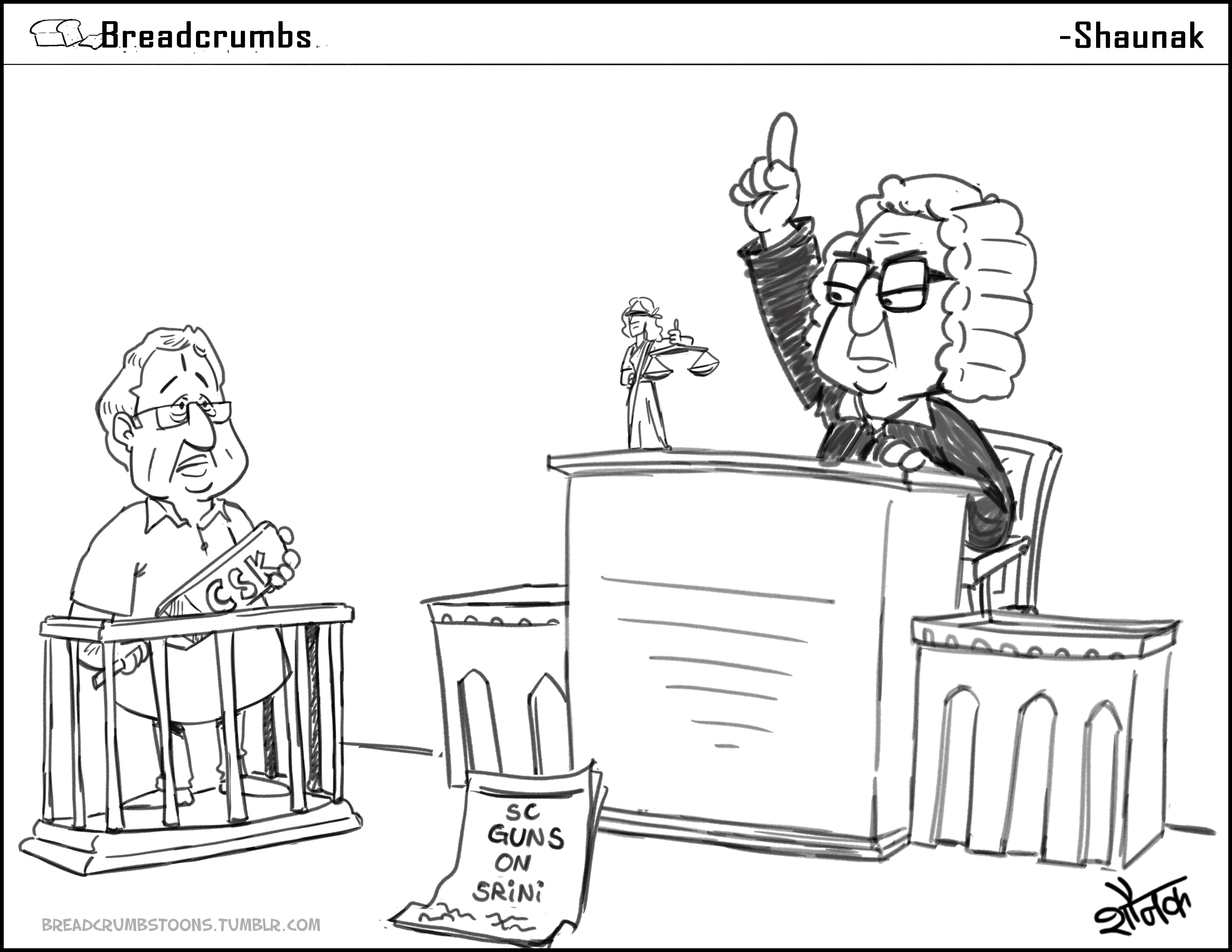 Comic: Supreme Court intervenes and refuses to give