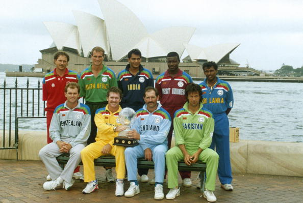 Image result for 1987 cricket world cup final