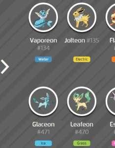 Eevee   evolutions image credit eurogamer also pokemon go evolution chart trick and location rh sportskeeda