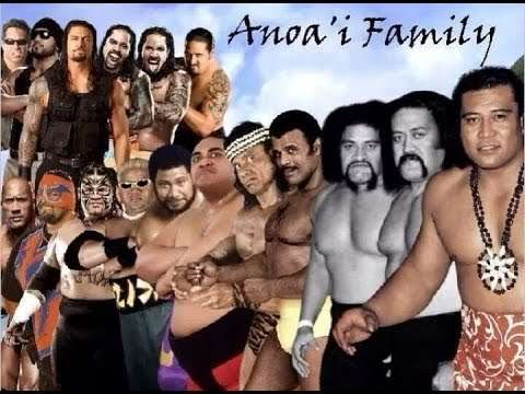 Roman Reigns Family Members In Wwe