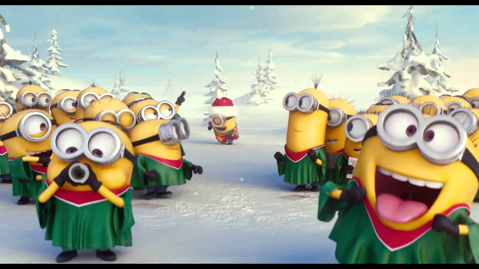 Minion Christmas Lights