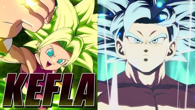 Sehen Sie sich das spektakuläre Präsentationsvideo von Goku Ultra Instinct und Kefla in Dragon Ball FighterZ an