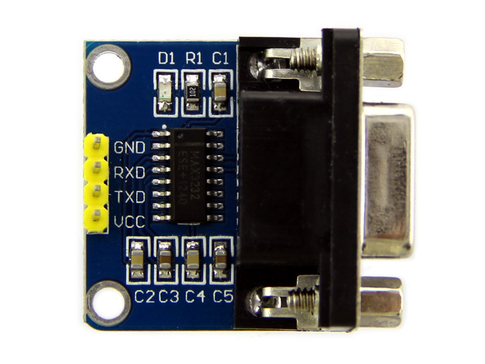 Ttl To Rs232 Level Converter Using Transistor Circuit