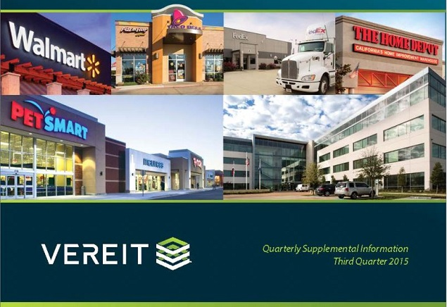 Net-Lease REIT VEREIT Continues To Execute On Investor Day Blueprint - VEREIT Inc. (NYSE:VER) | Seeking Alpha