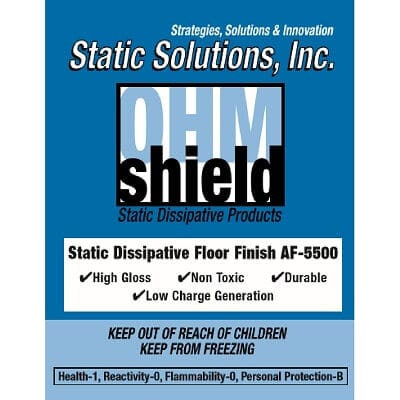 AF-5500 Static Dissipative Floor Finish ESD