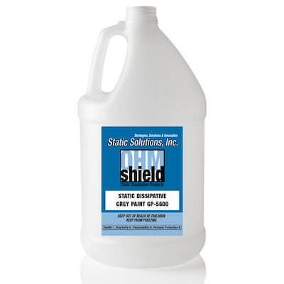 1 Gallon (4 Gallons per case) ESD Urethane Enhanced Conductive Paint