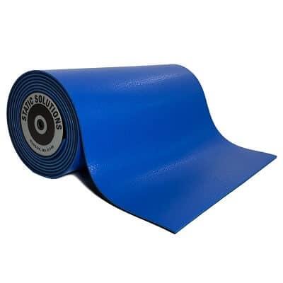 ESD mat mats and rolls in dark blue