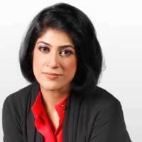 Amber Rahim Shamsi hot Tv host