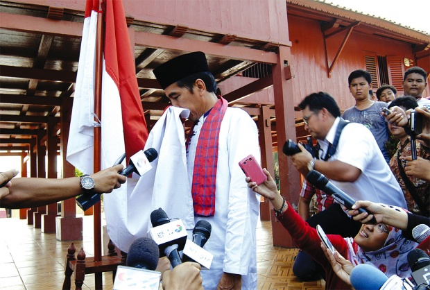 Finally, Jokowi Declares Bid for Presidency