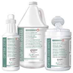 OPTIM 33 TB Surface cleaner & disinfectant with Accelerated Hydrogen Peroxide