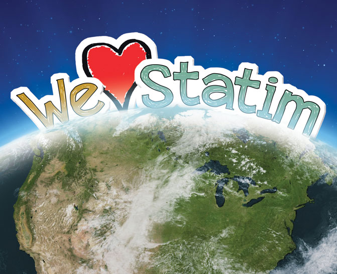 We love Statim worldwide