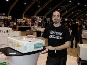 Brian Skellie demonstrates a classic Statim 5000 autoclave in