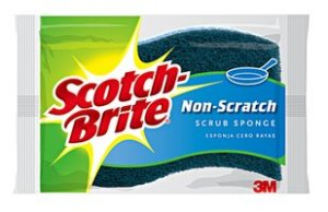Scotch brite no scratch scrub pad