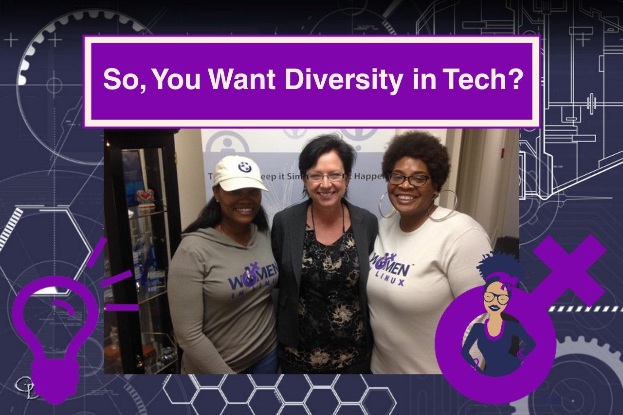 Diversity in Tech - Women In Linux