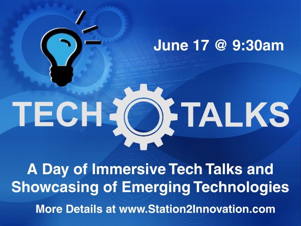 Station 2 innovation - Tech Talks