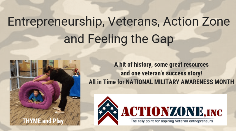 Entrepreneurship, Veterans, Action Zone and Feeling the Gap