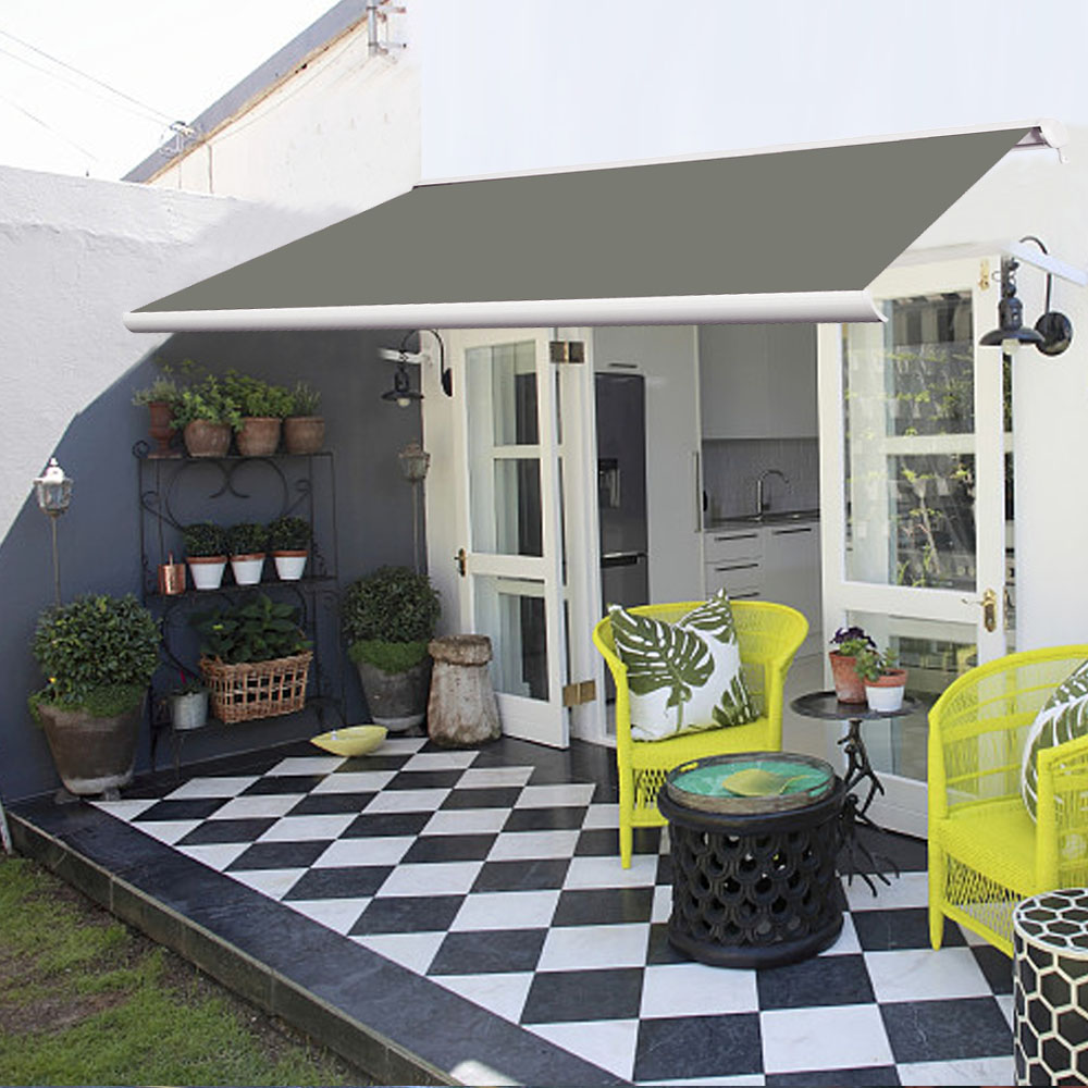 full cassette electric patio garden