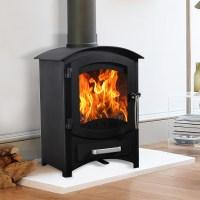 Wellingore 6.22KW Log Burner MultiFuel Wood Burning Stove ...