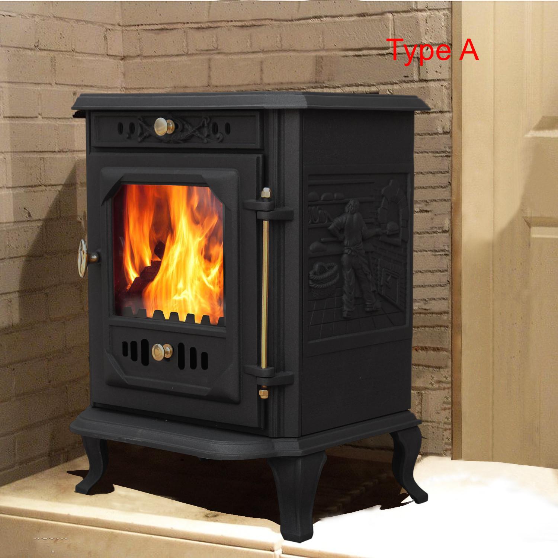 Multifuel Woodburner Stove Wood Burning Log Burner Modern