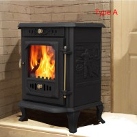 Multifuel Woodburner Stove Wood Burning Log Burner Modern ...