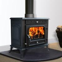 Multifuel Woodburner Stove Wood Burning Log Burner Modern ...