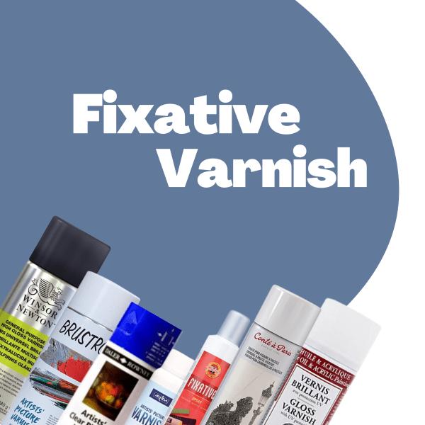 Fixative & Varnish Spray