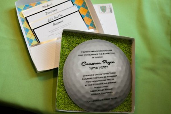 time to tee off with a golf invitation bliss stationery events