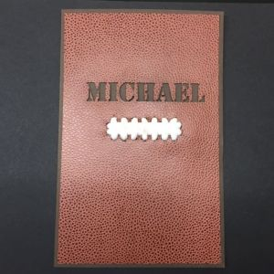 Football Superbowl Bar Mitzvah Invitation