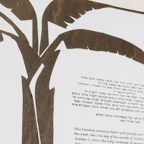 Ketubah Close
