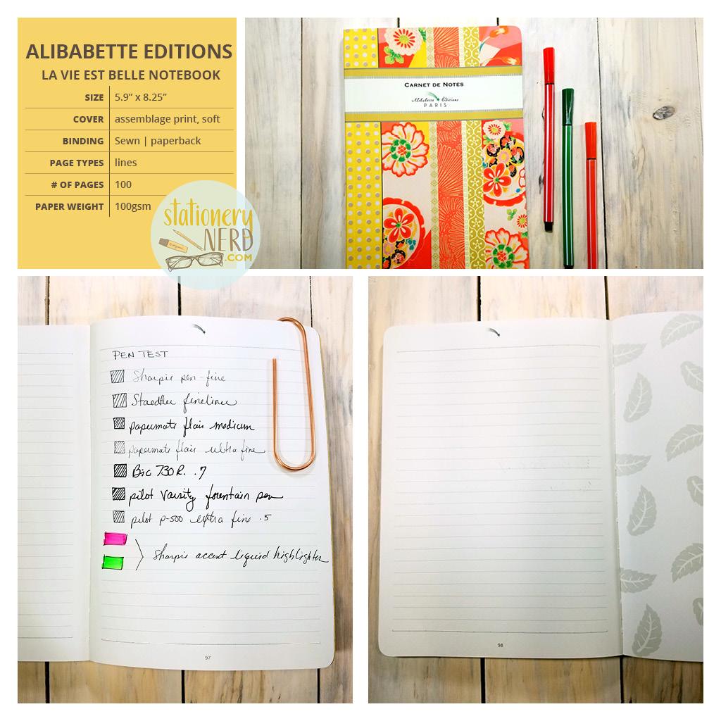 StationeryNerd_Alibabette Journal Review
