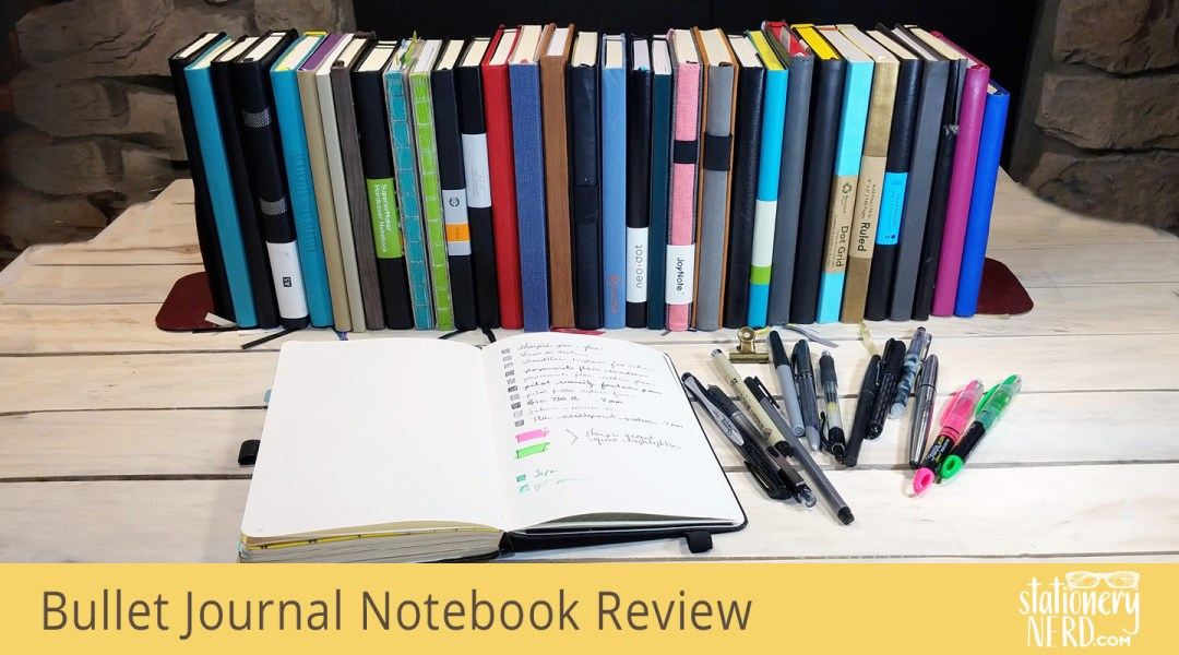Mega A5 Bullet Journal Notebook Review Stationery Nerd