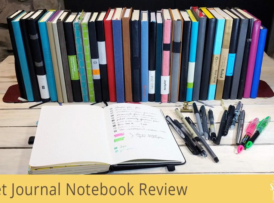 Mega A5 Bullet Journal Notebook Review