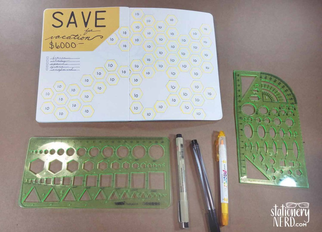 Bullet Journaling Stencil Roundup - Stationery Nerd