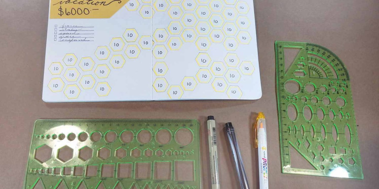 Bullet Journaling Stencil Roundup