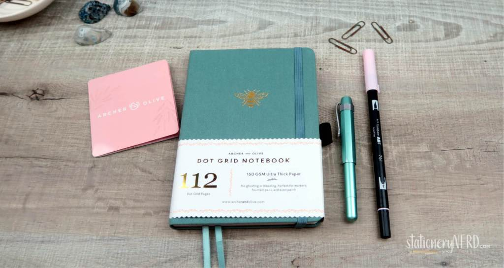 Archer and Olive notebook Review