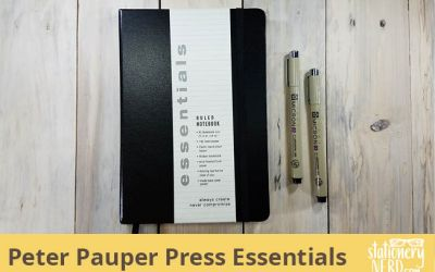 Peter Pauper Press Essentials Notebook