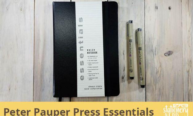 Peter Pauper Press Essentials Notebook