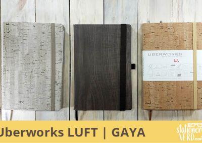 Uberworks LUFT and GAYA Notebooks